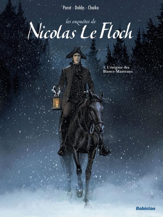 Couverture de Nicolas Le Floch (Les Enquêtes de) -1- L'énigme des Blancs-Manteaux
