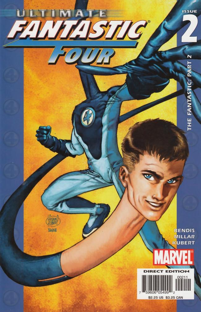 Couverture de Ultimate Fantastic Four (2004) -2- The Fantastic: Part 2