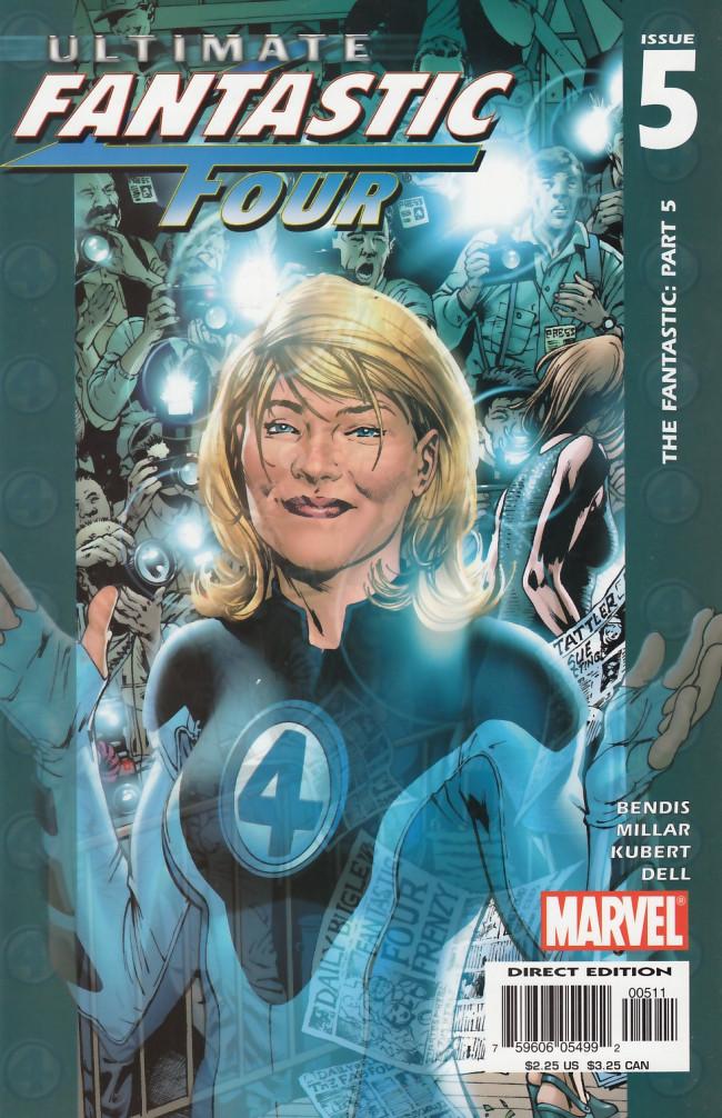 Couverture de Ultimate Fantastic Four (2004) -5- The Fantastic: Part 5