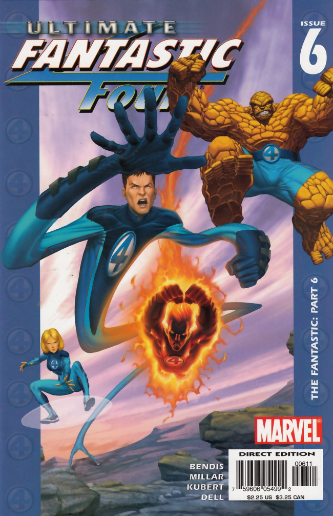Couverture de Ultimate Fantastic Four (2004) -6- The Fantastic: Part 6