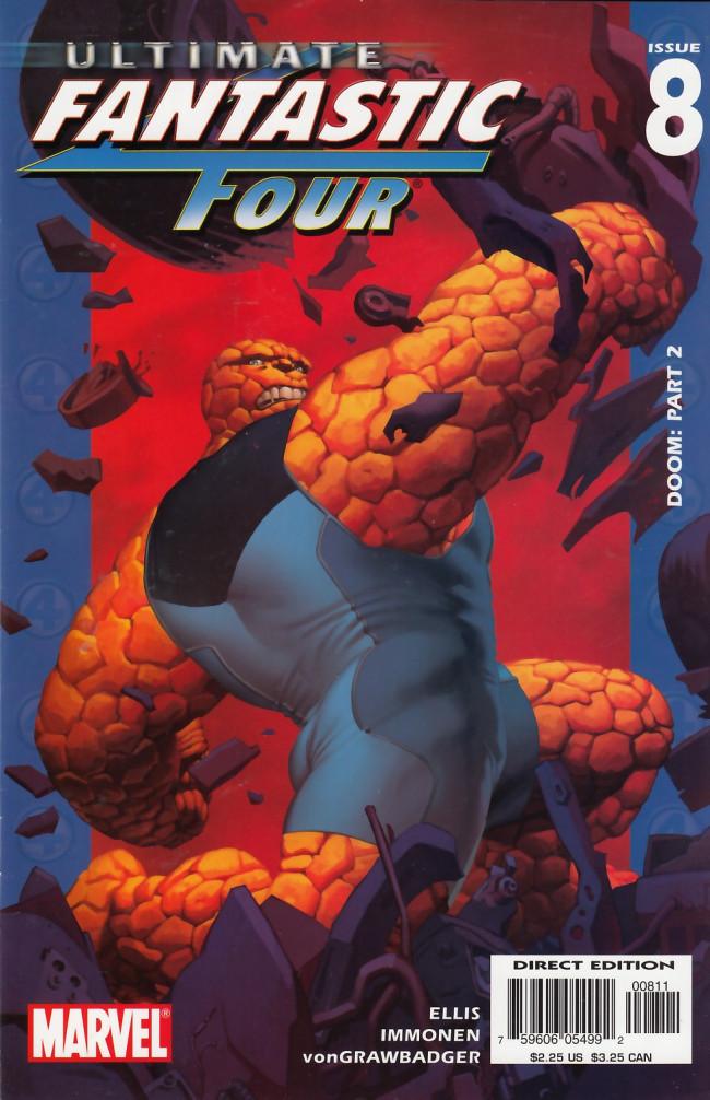 Couverture de Ultimate Fantastic Four (2004) -8- Doom: Part 2
