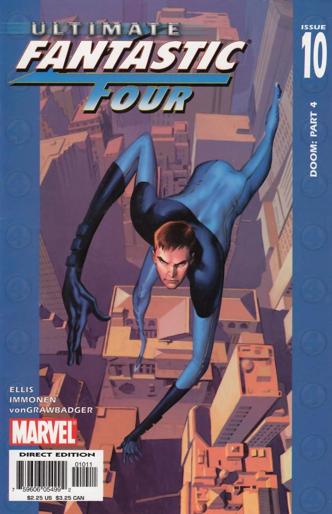 Couverture de Ultimate Fantastic Four (2004) -10- Doom: Part 4