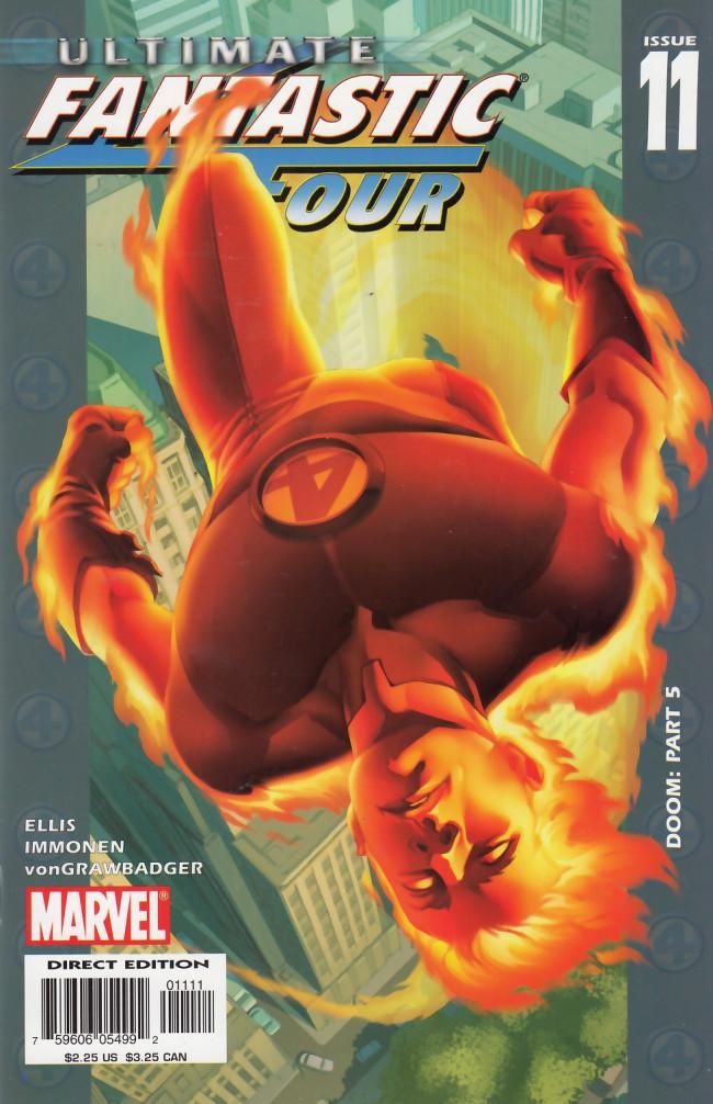 Couverture de Ultimate Fantastic Four (2004) -11- Doom: Part 5