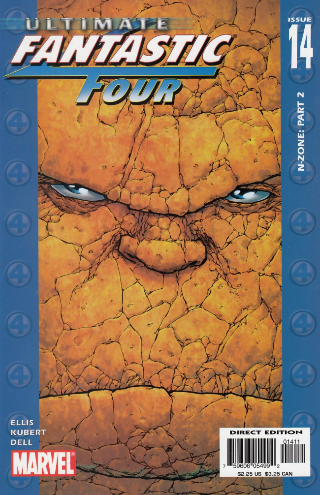 Couverture de Ultimate Fantastic Four (2004) -14- N-Zone Two of Six