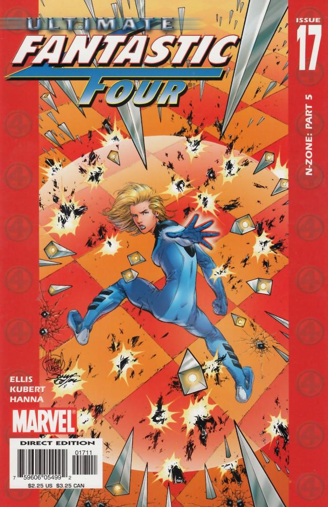 Couverture de Ultimate Fantastic Four (2004) -17- N-Zone Five of Six