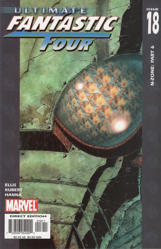 Couverture de Ultimate Fantastic Four (2004) -18- N-Zone Conclusion