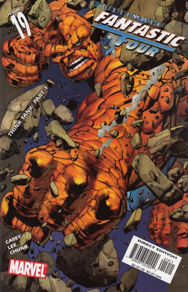 Couverture de Ultimate Fantastic Four (2004) -19- Think Tank, Part 1 of 2