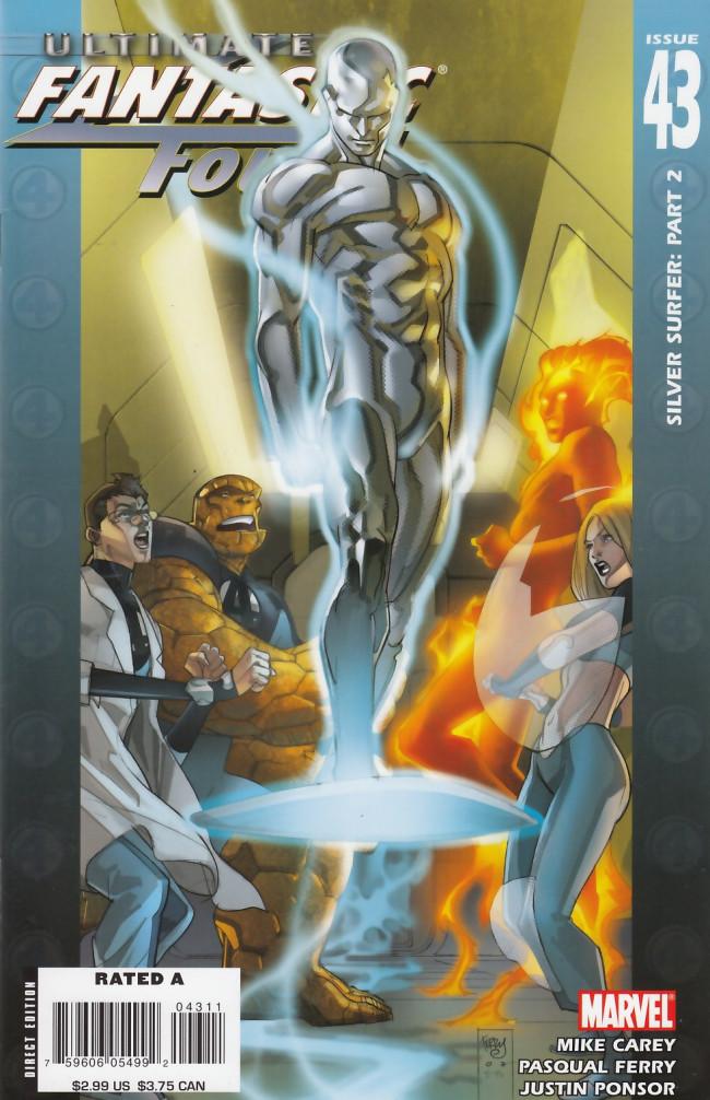 Couverture de Ultimate Fantastic Four (2004) -43- Silver Surfer: Part 2