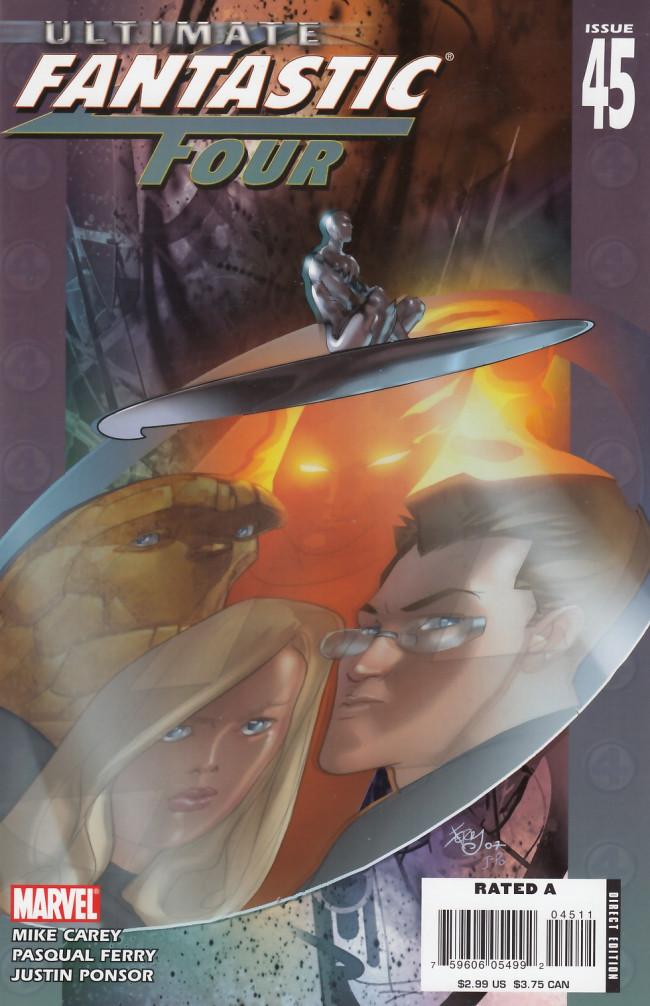 Couverture de Ultimate Fantastic Four (2004) -45- Silver Surfer: Part 4