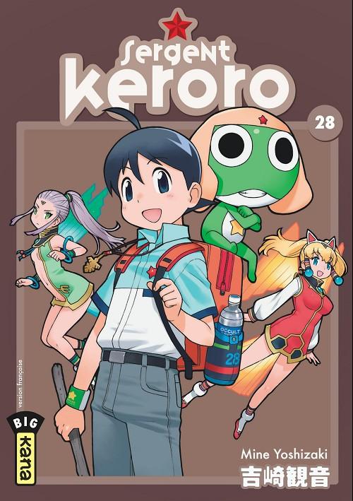 Couverture de Sergent Keroro -28- Tome 28