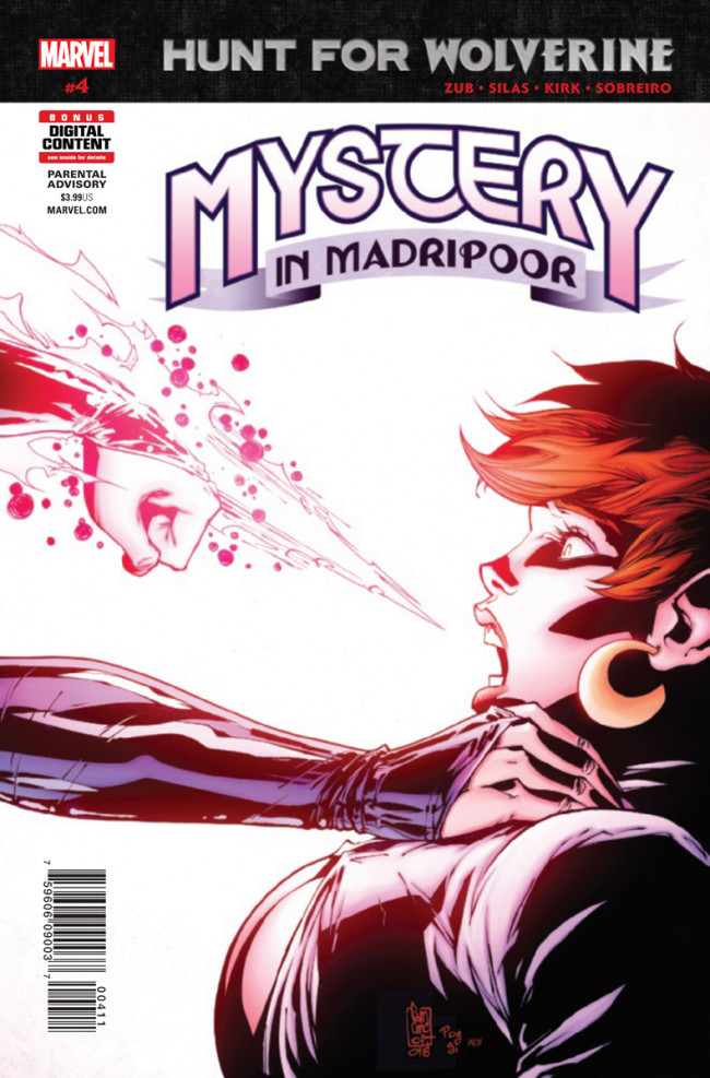 Couverture de Hunt for Wolverine: Mystery in Madripoor (2018) -4- Issue #4