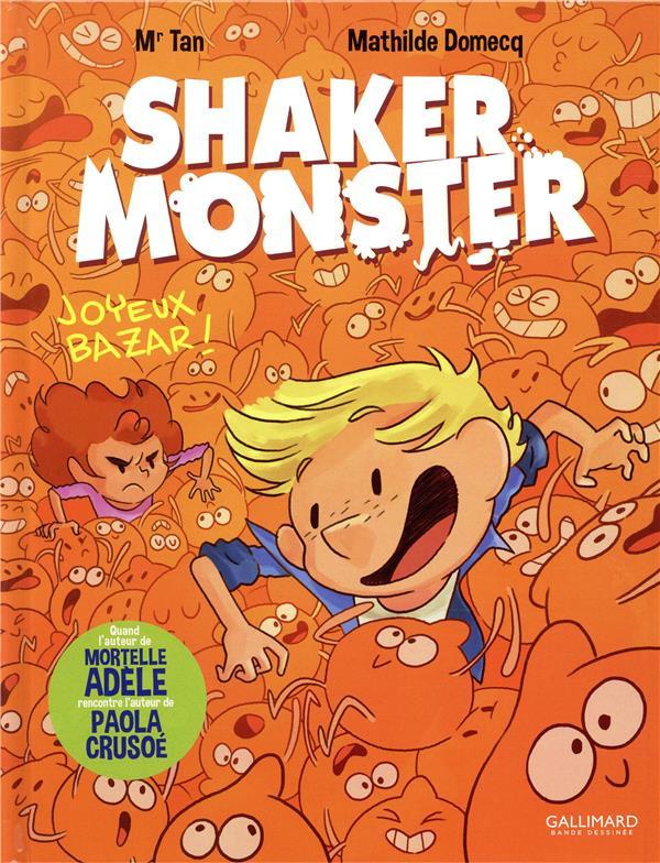 Couverture de Shaker Monster -3- Tome 3