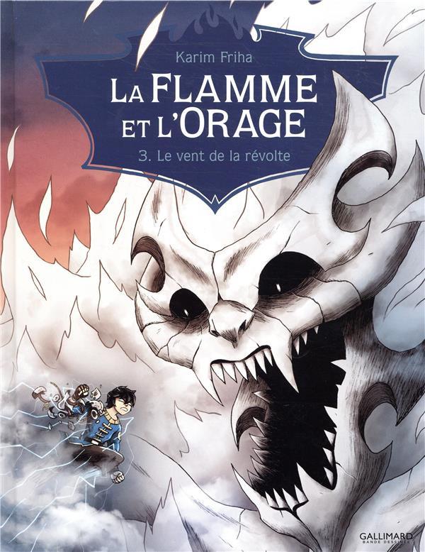 Couverture de La flamme et l'Orage -3- Le vent de la révolte