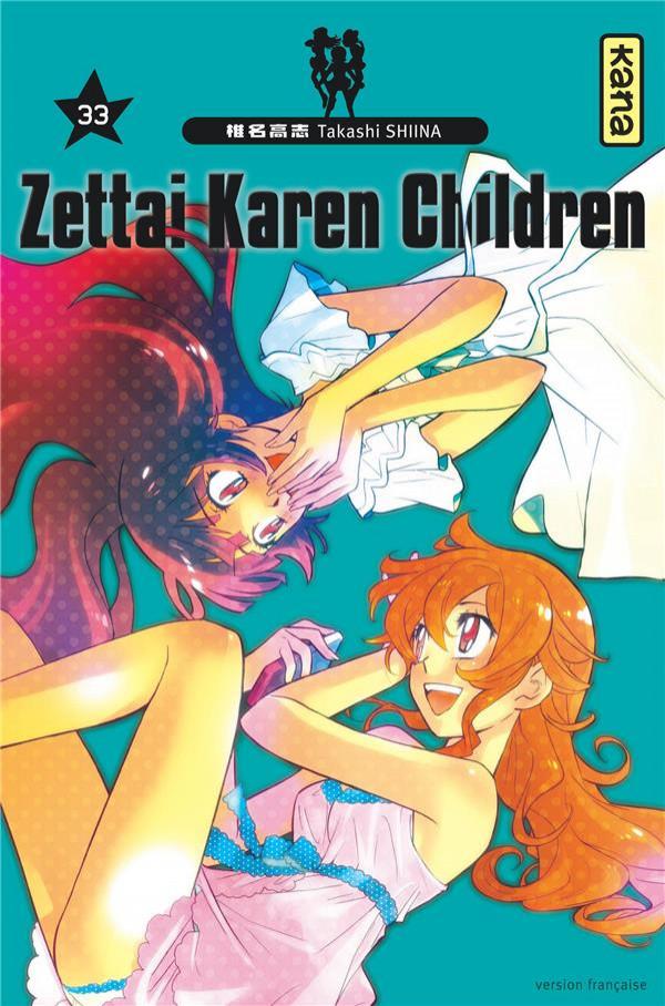 Couverture de Zettai Karen Children -33- Tome 33