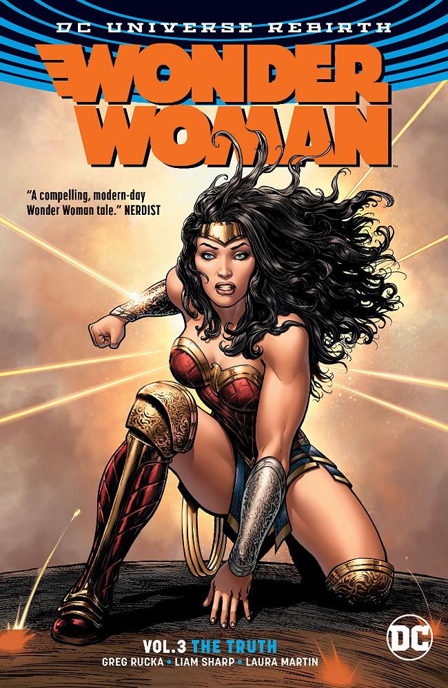 Couverture de Wonder Woman Vol.5 (DC comics - 2016) -INT03- Wonder Woman Volume 3: The Truth
