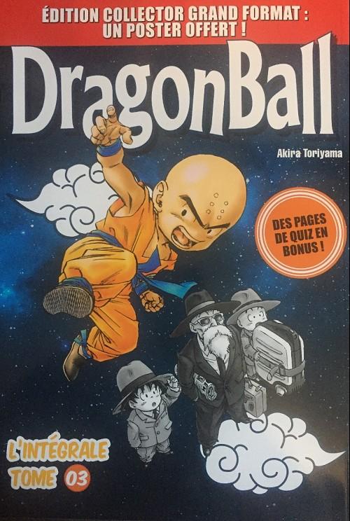 Couverture de Dragon Ball - La Collection (Hachette) -3- L'intégrale Tome 3