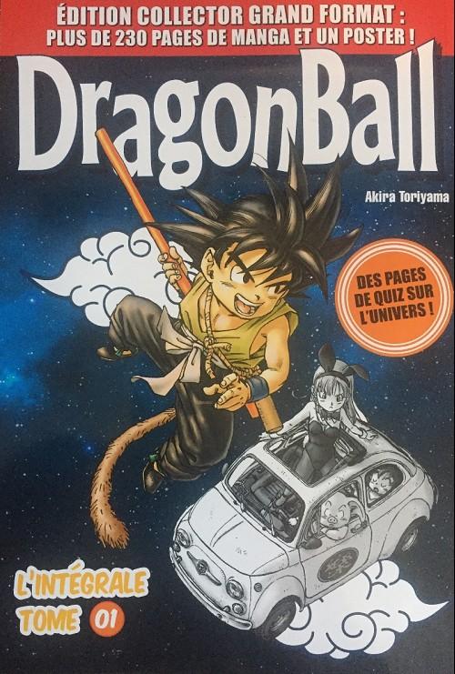 Couverture de Dragon Ball - La Collection (Hachette) -1- Tome 01