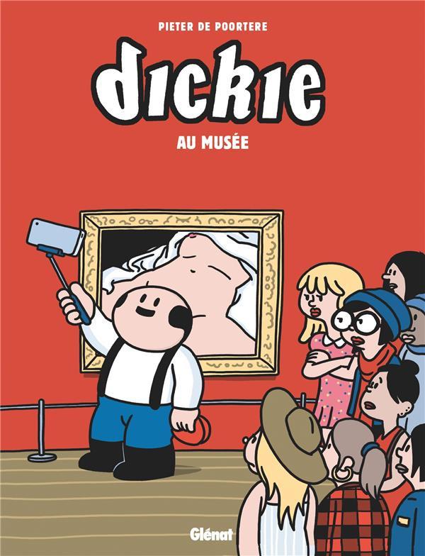 Couverture de Dickie -8- Dickie au musée