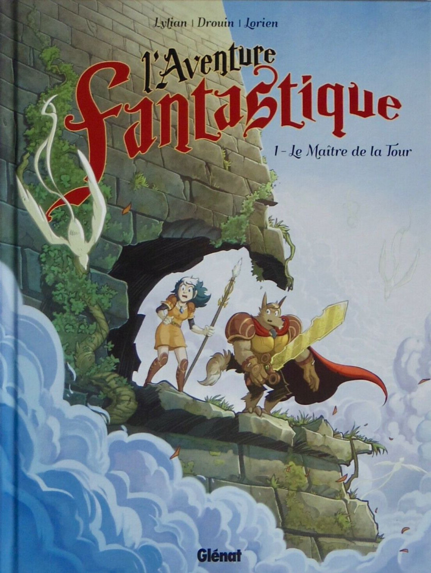 Couverture de L'aventure fantastique -1- Le maître de la tour