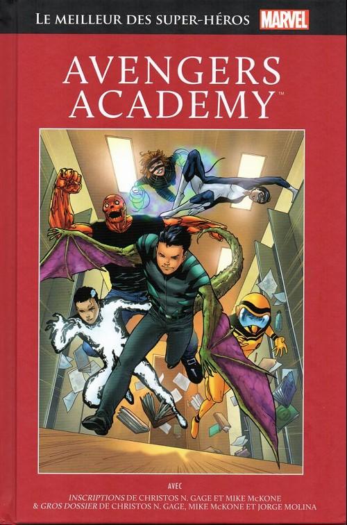 Couverture de Marvel Comics : Le meilleur des Super-Héros - La collection (Hachette) -68- Avengers academy