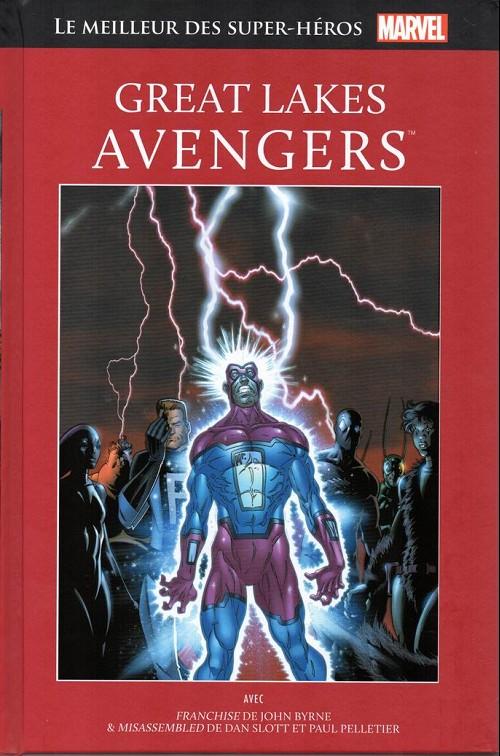 Couverture de Marvel Comics : Le meilleur des Super-Héros - La collection (Hachette) -69- Great lakes avengers