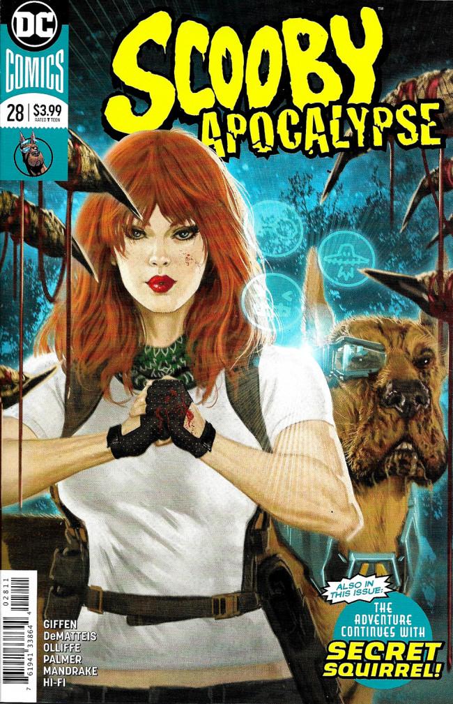 Couverture de Scooby Apocalypse (2016) -28- The Unexpected!