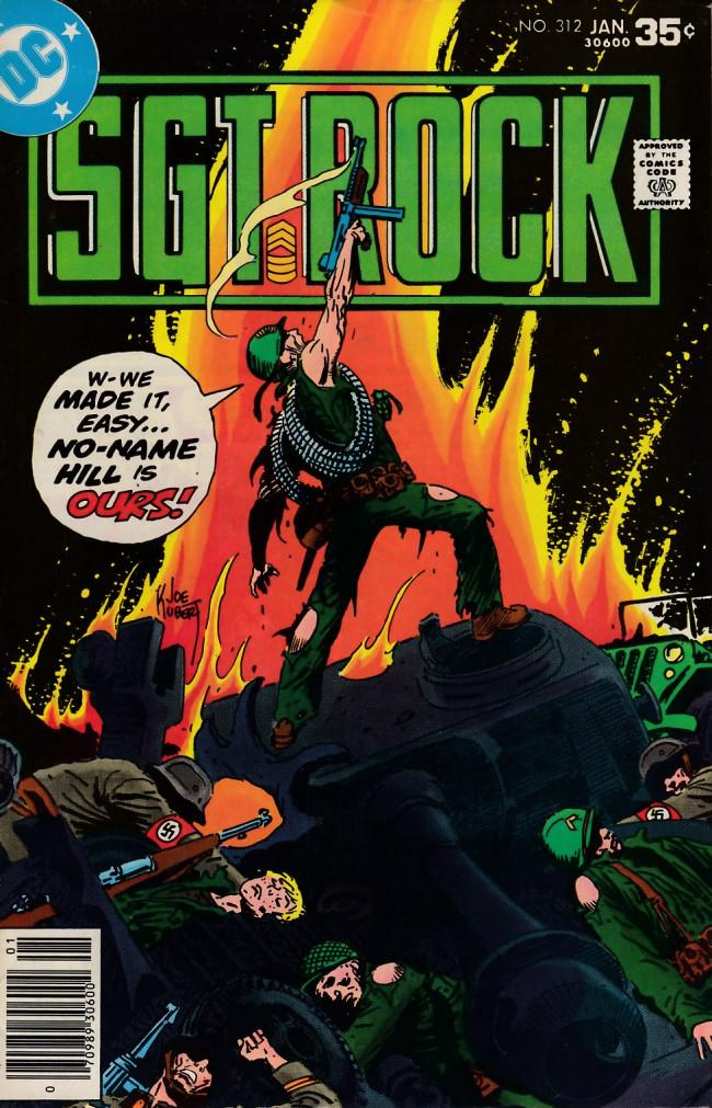 Couverture de Sgt. Rock (1977) -312- No Name Hill