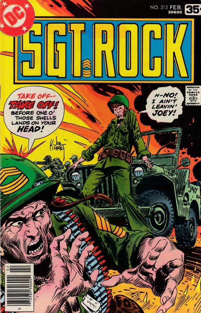 Couverture de Sgt. Rock (1977) -313- A Jeep Called Joey!