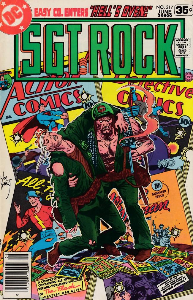 Couverture de Sgt. Rock (1977) -317- Hell's Oven