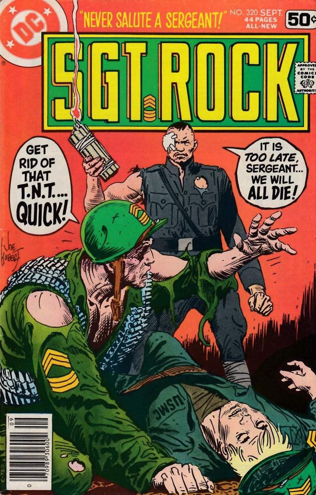 Couverture de Sgt. Rock (1977) -320- To Kill a Sergeant