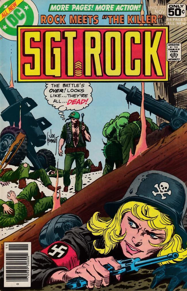 Couverture de Sgt. Rock (1977) -322- The Killer