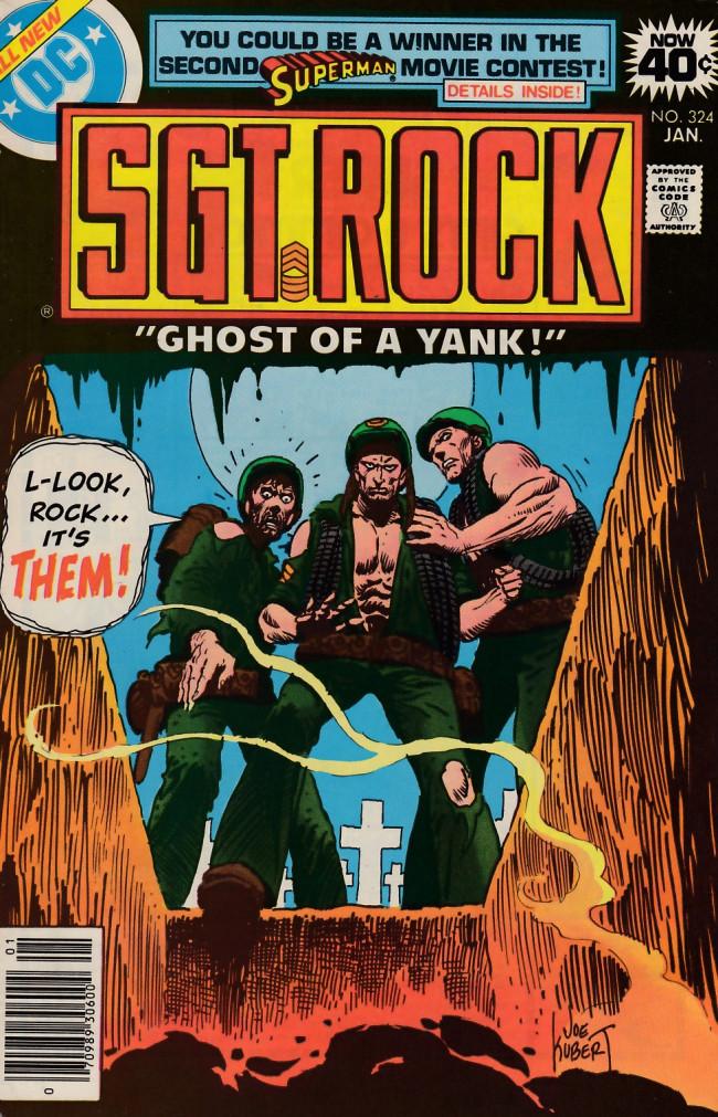 Couverture de Sgt. Rock (1977) -324- Ghost of a Yank!