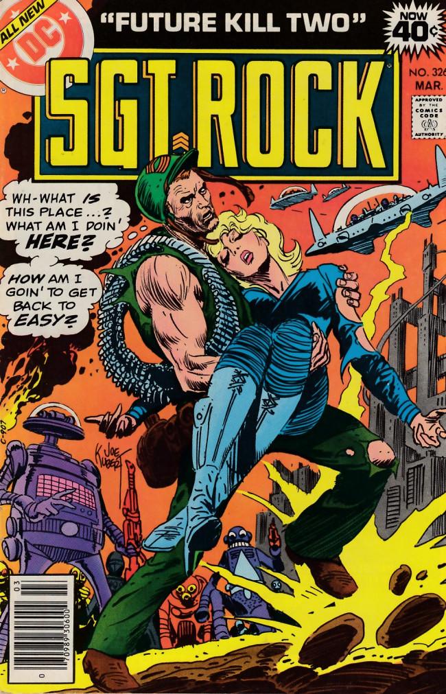 Couverture de Sgt. Rock (1977) -326- Future Kill Two!