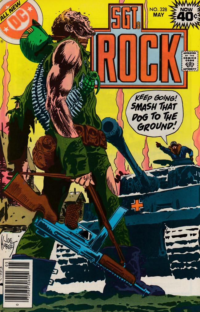 Couverture de Sgt. Rock (1977) -328- Waiting For Rock