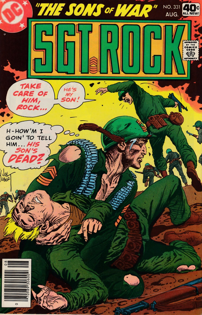Couverture de Sgt. Rock (1977) -331- The Sons of War