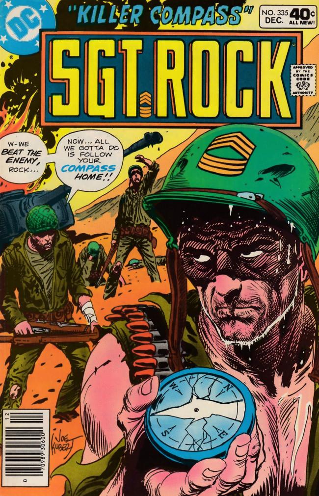 Couverture de Sgt. Rock (1977) -335- Killer Compass
