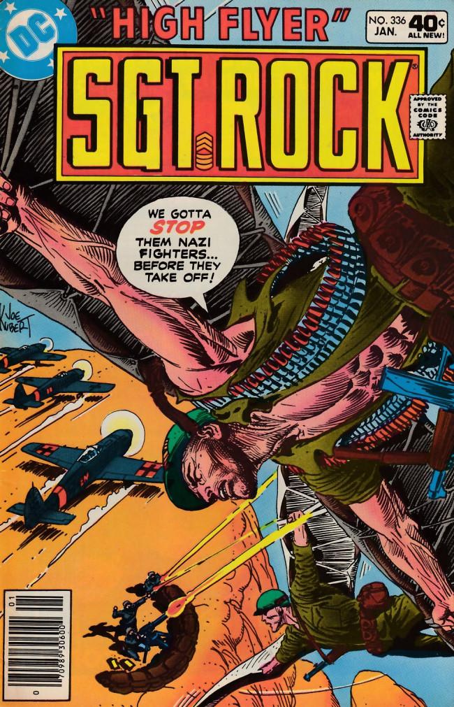 Couverture de Sgt. Rock (1977) -336- The Red Maple Leaf