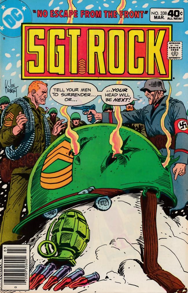 Couverture de Sgt. Rock (1977) -338- No Escape From The Front