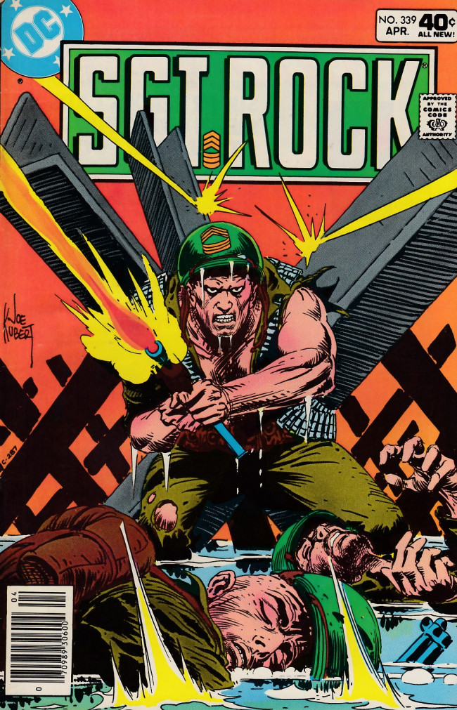 Couverture de Sgt. Rock (1977) -339- I Was Here Before!