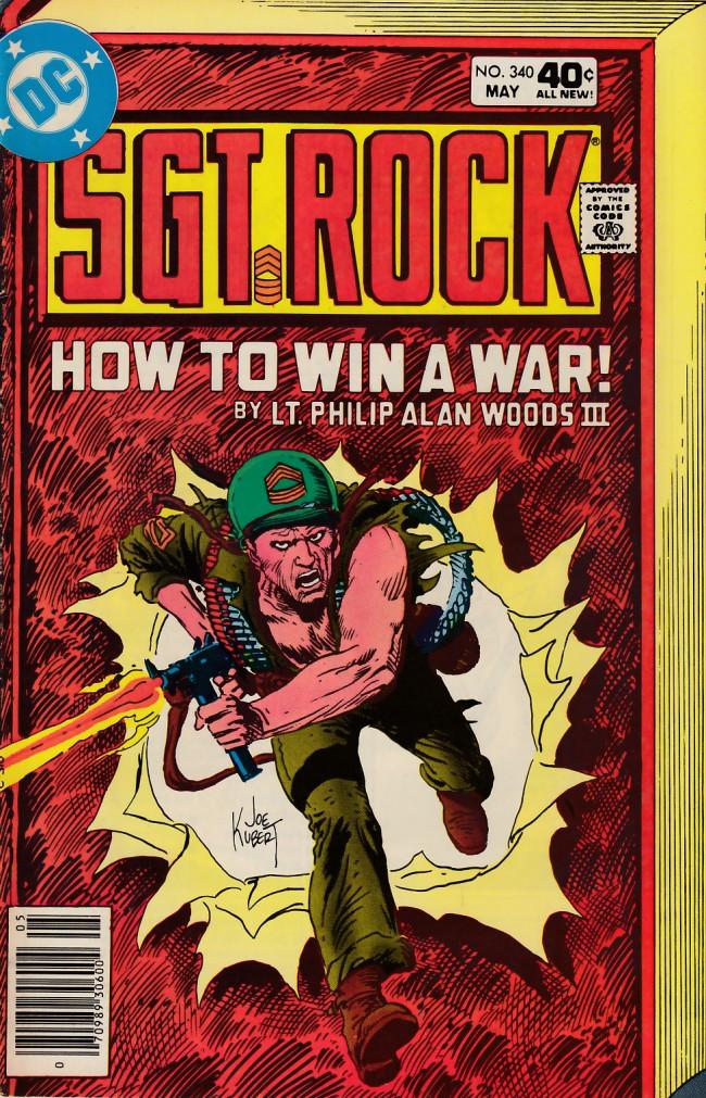 Couverture de Sgt. Rock (1977) -340- How To Win A War