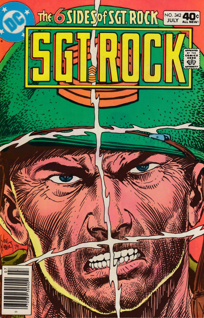 Couverture de Sgt. Rock (1977) -342- The 6 Sides of Sgt. Rock