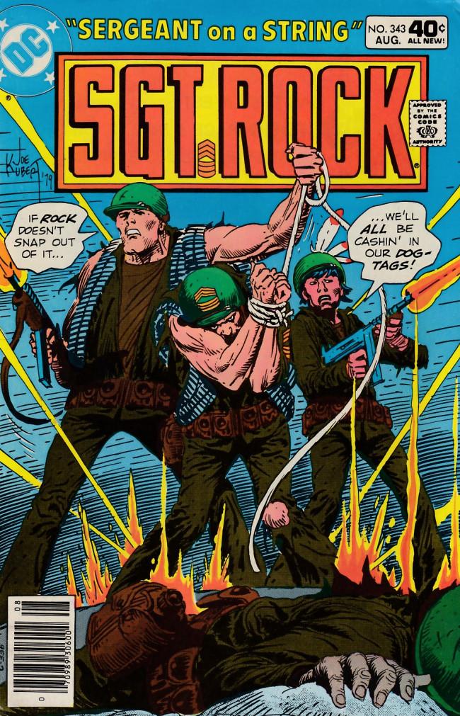 Couverture de Sgt. Rock (1977) -343- Sergeant on a String