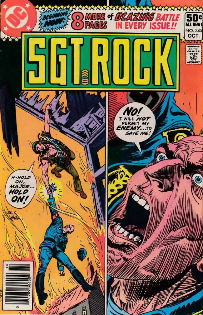 Couverture de Sgt. Rock (1977) -345- The Return of the Iron Major