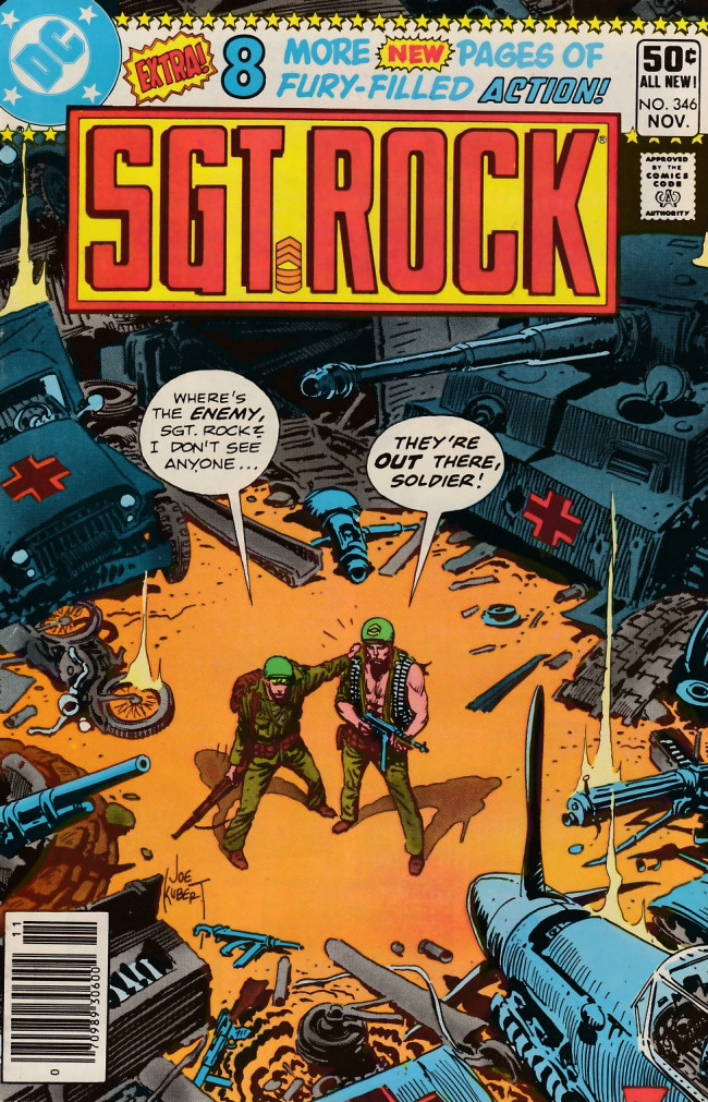 Couverture de Sgt. Rock (1977) -346- They're Out There!
