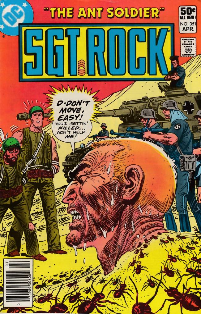 Couverture de Sgt. Rock (1977) -351- The Ant Soldiers