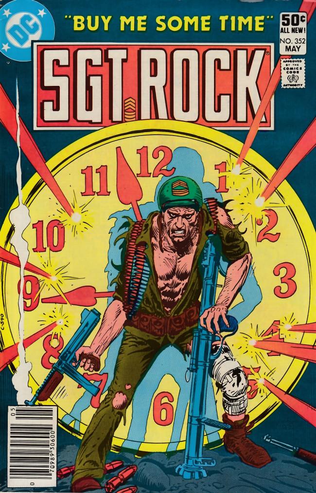 Couverture de Sgt. Rock (1977) -352- Buy Me Some Time