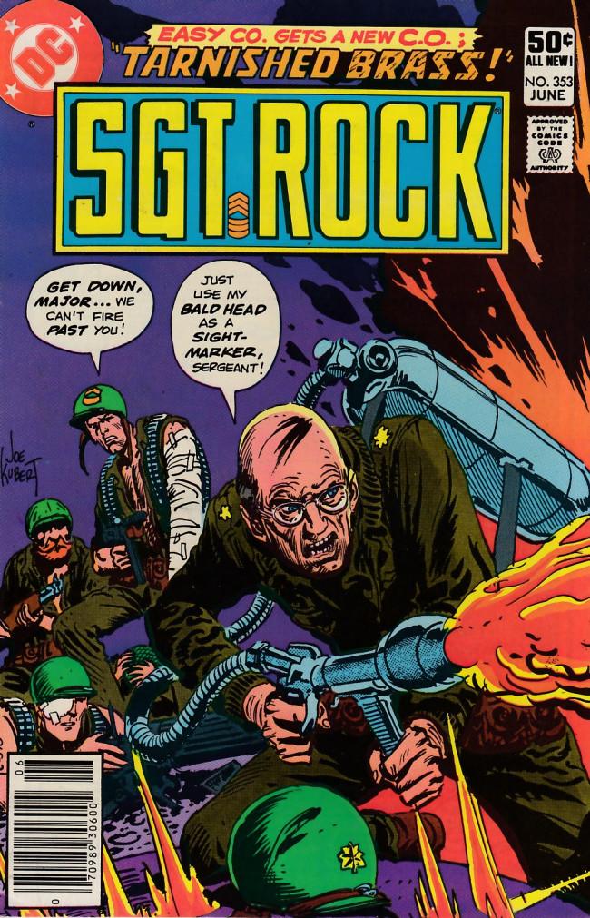 Couverture de Sgt. Rock (1977) -353- Tarnished Brass