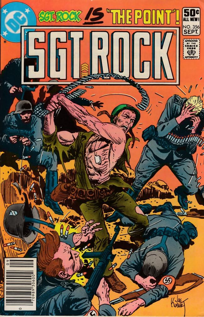 Couverture de Sgt. Rock (1977) -356- Point