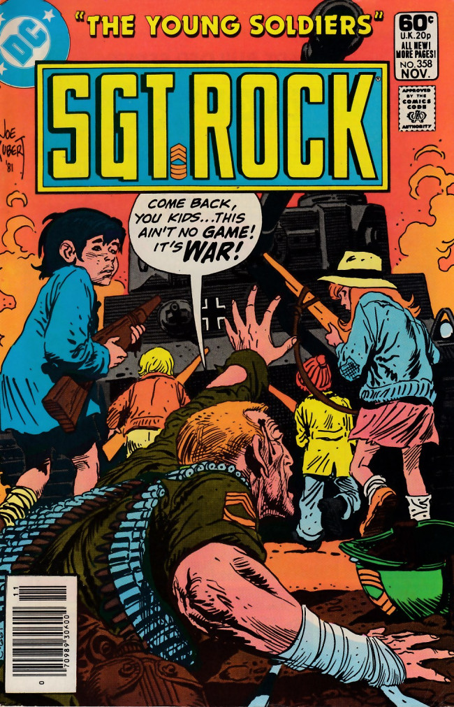 Couverture de Sgt. Rock (1977) -358- The Young Soldiers