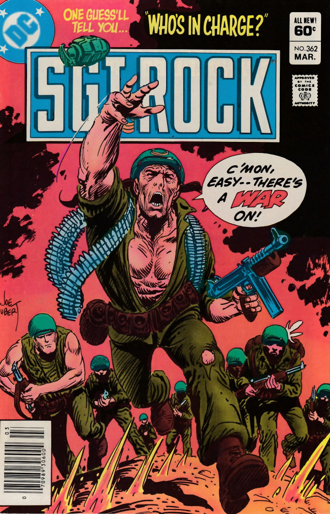 Couverture de Sgt. Rock (1977) -362- Who's in Charge?